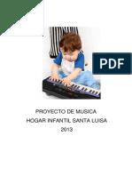 Proyecto de Musica Santa Luisa