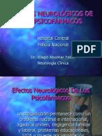 Efectos Neurológicos de los Psicofármacos