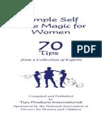 Booklet - SelfCareForWomen
