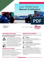 TPS400 UserManual 4.0 French