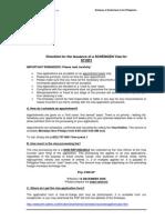 Swiss Visa Application - Checklist for Study