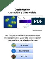 Desinfección-Cloración y UV