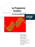 Time-Frecuency Toolbox MATLAB