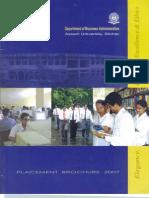 Assam University Placementl Profile 2006-07