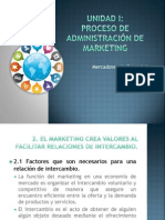 2. El Marketing Crea Valores Al Facilitar Relaciones de Intercambio