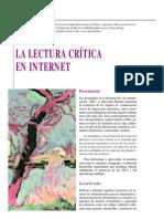 Lectura  Crítica en Internet