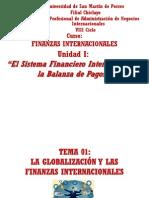 UNIDAD 01 Globalizacion y Las Finanzas Internacionales