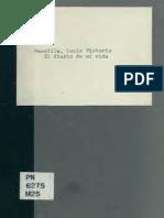 MANSILLA- El Diario de Mi Vida (1888)