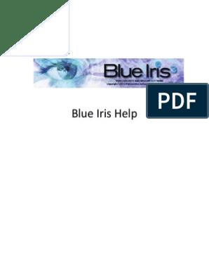 Blue Iris Chm Help File 03-30-2013 v3   Port (Computer