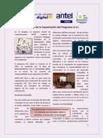 Programa USI - Acerca de los Principios de la Capacitación