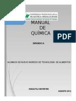 Manual QUIMICA 2013 Procesos