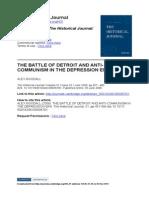 The Battle of Detroit