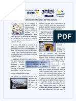 Programa USI - Caso del Infocentro de Villa Soriano