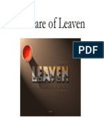 Beware of Leaven