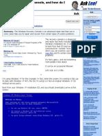 FIX, Dual Boot - FixMBR Guide