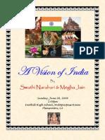 A Vision of India Program Details