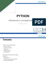 Introducción a Python