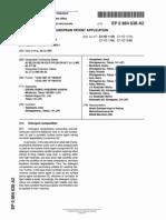 EP0864638A2(giải pháp cho vđ kl nhẹ và xử lý nước cứng