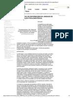 ASSISTÊNCIA DE ENFERMAGEM NA UNIDADE DE RECUPERAÇÃO PÓS-ANESTÉSICA