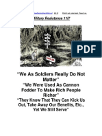 Military Resistance 11I7 Truth