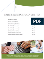 Cover Letter Packet