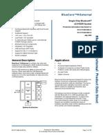CSR BC417 Datasheet
