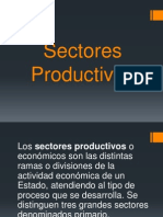 Sectores Productivos