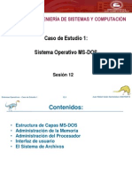 Sesion 12.1 - Caso de Estudio 1 - Sistema Operativo DOS