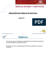 Sesion 11.1 - Administracion Basica de Servicios