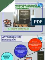 AUTOEVALUACIÓN CON FINES DE MEJORA.