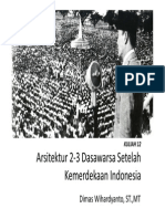 Kuliah 12_Arsitektur Paska Kemerdekaan Di Indonesia