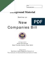 Seminar NewCompaniesBIll 23032013