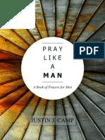 PRAY LIKE A MAN