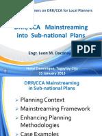 Module 8_DRR CCA Mainstreaming 4