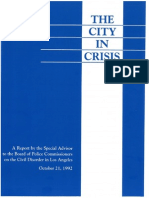 The City in Crisis
