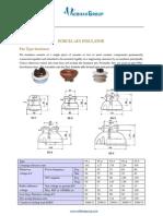 Porcelain Pin Type Insulators