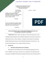 Malsam-Rysdon's and Van Hunnik Memorandum Of  Law Motion To Dismiss
