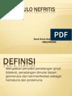 Glomerulo Nefritis Akut (David Kevin Graham Lesnussa)