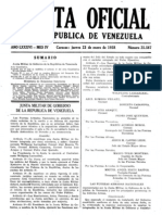 Gaceta Oficial 23 de Enero de 1958 Pagina 1