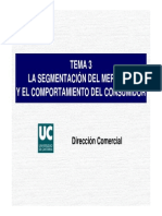 Segmentacion Del Mercado y COC