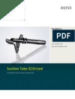 Upgrade Suction Tube ECOrized Ring Spinning Leaflet en Original 48596