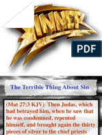 The Terrible Thing About Sin