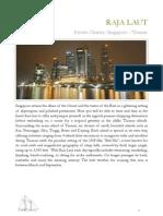 Singapore Tioman Itinerary