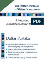 Materi Lokakarya Daftar Pustaka