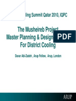 MHOD District Cooling- Arup 29-09-2011