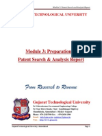 Module 3-Preparation of Patent Search