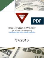 Dividend Weekly 37_2013