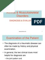 Arthritis Musculoskeletal Disorders
