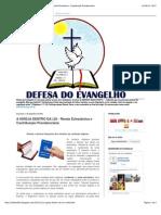 DEFESA DO EVANGELHO- A IGREJA DENTRO DA LEI - Renda Eclesiástica e Contribuição Previdenciária.pdf