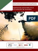 Estudio de experiencias personales en el ámbito de la extinción de incendios